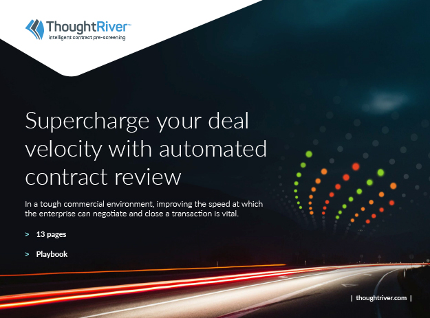 Supercharge your deal velocity with automated contract review