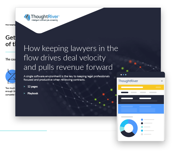 Download our eGuide: How keeping lawyers in the flow drive deal velocity and pulls revenue forward
