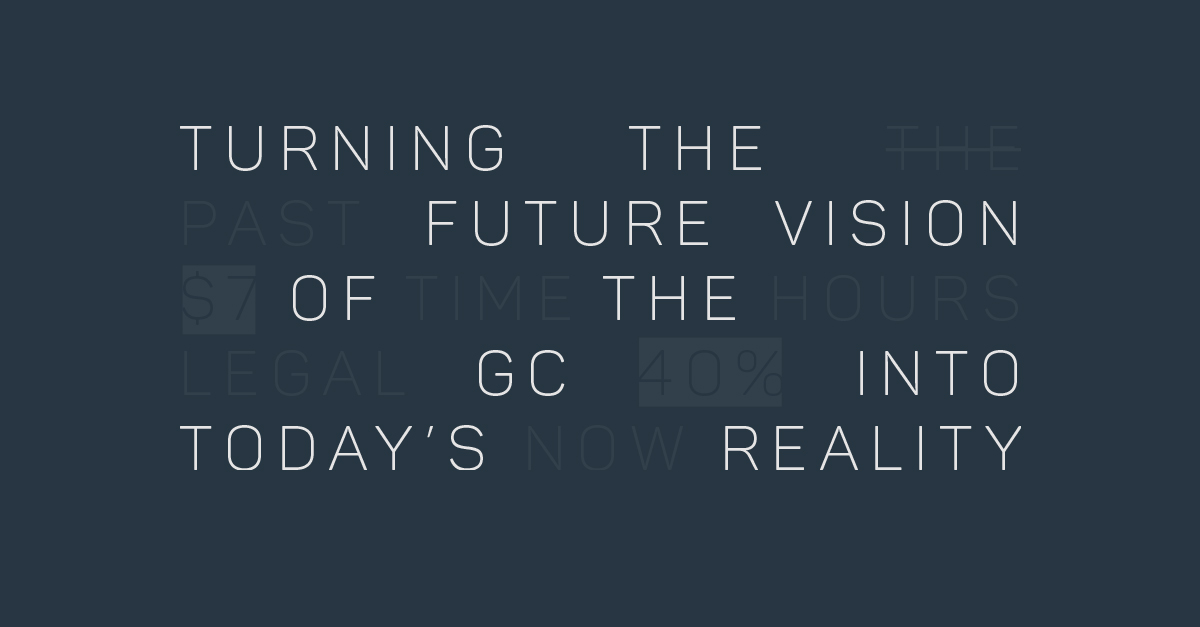 Webinar: Turning the future vision of the general counsel into today's reality