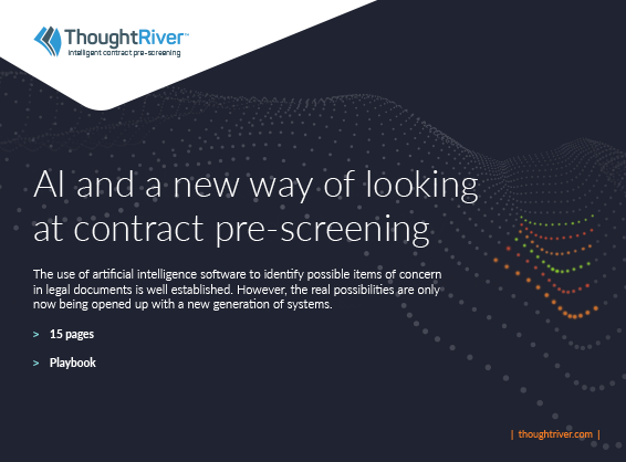 AI and a new way of looking at contract pre-screening