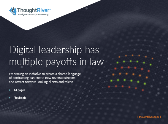 Digital leadership has multiple payoffs in law
